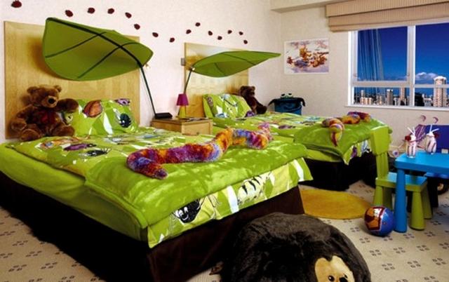 Un dormitorio infantil muy original y natural - Habitaciones infantiles nino ...