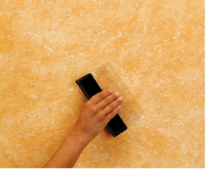 Acabados para paredes - Formas de pintar paredes interiores ...
