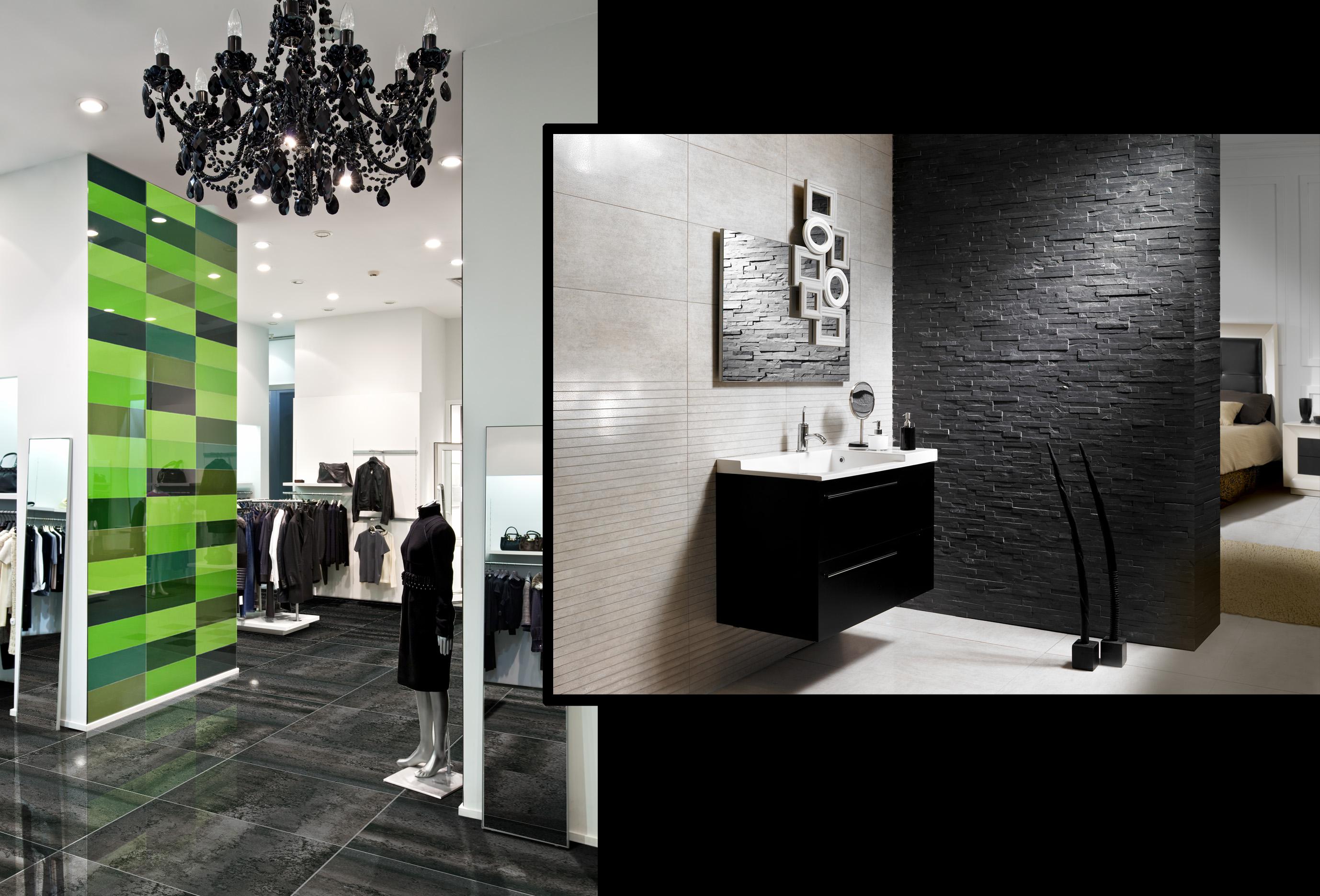 Acabados para paredes for Paredes modernas para interiores