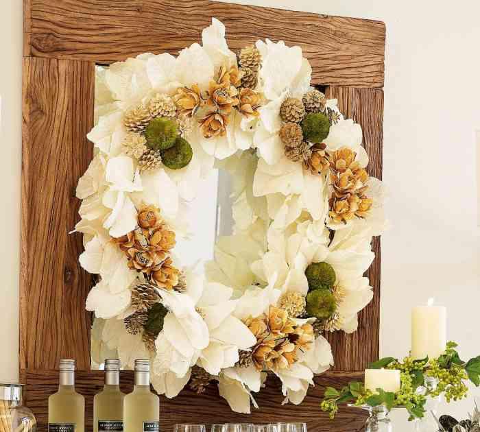 Como hacer adornos para decorar la casa en navidad - Arcos decorativos para puertas ...
