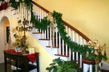 Cómo decorar las escaleras en navidad