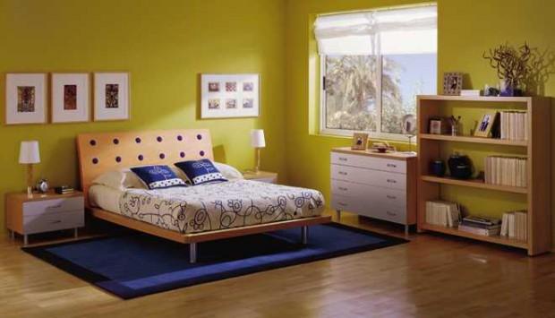 Colores en la habitación
