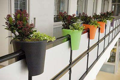Utilidad de las plantas en la decoraci n de balcones - Decoracion de balcones con plantas ...