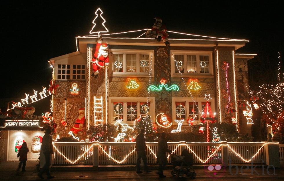 Decoraci n navide a exterior para este a o - Decoracion navidena de casas ...