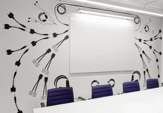 Decoraciones creativas para la pizarra de la oficina for Imagenes de decoracion de oficinas