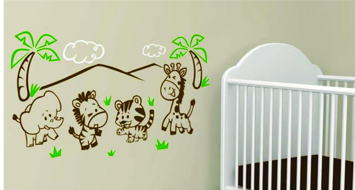 Decorando con vinilos excelente opci n para decorar el for Vinilos para bebe nino