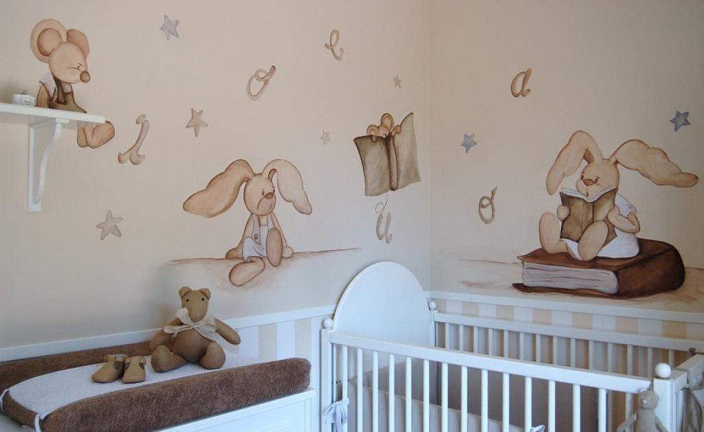 Decorando dormitorios de bebes aprende ahora mismo for Decoracion habitacion compartida nino nina