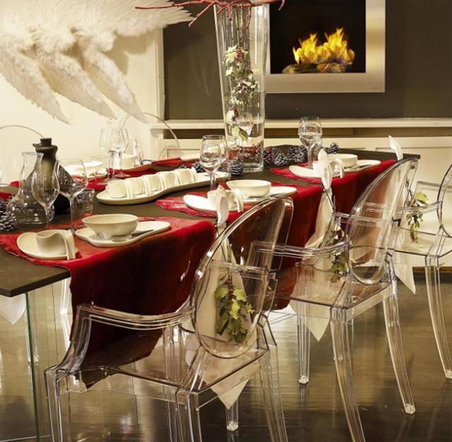 Como decorar el comedor con toques navide os Como hacer un comedor