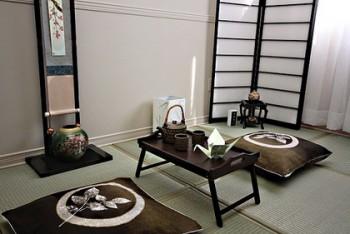 Decorar oficina de estilo oriental