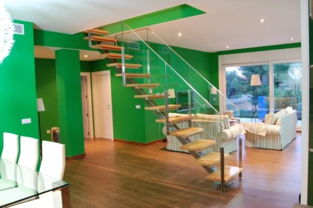 Diseños de escaleras para la casa..