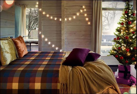 Dormitorios navideños