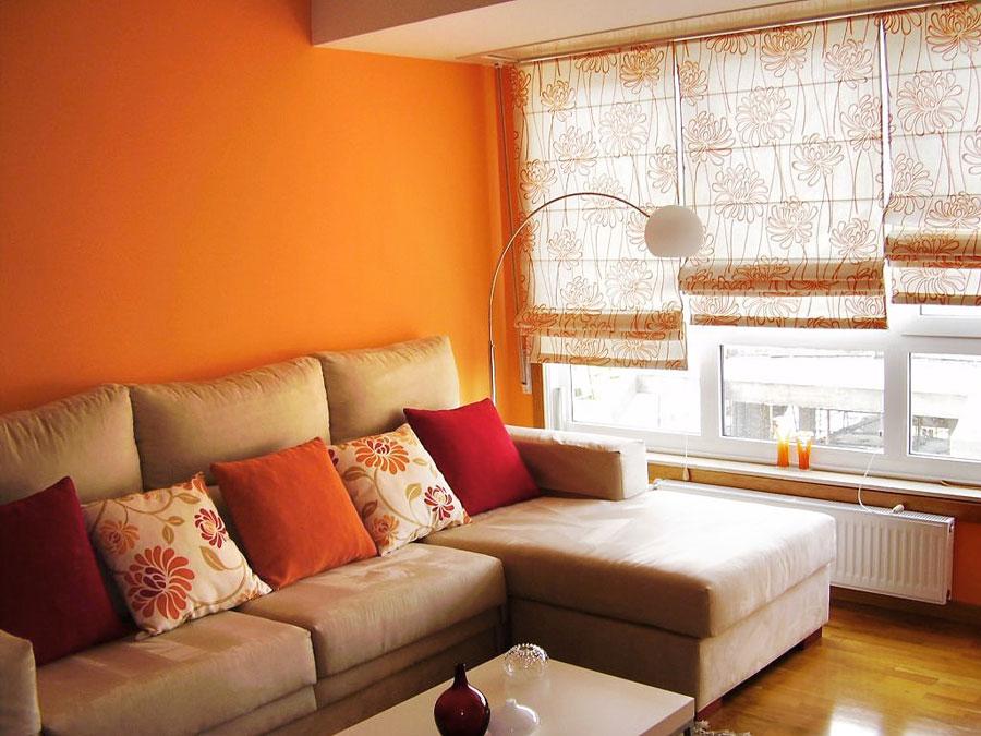 El buen uso de los estores y las cortinas - Cortinas o estores para salon ...
