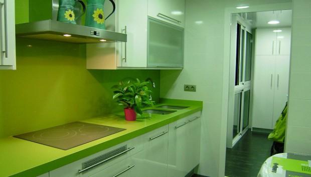 Moderno Manzana Verde Sillas De La Cocina Cresta - Ideas Del ...