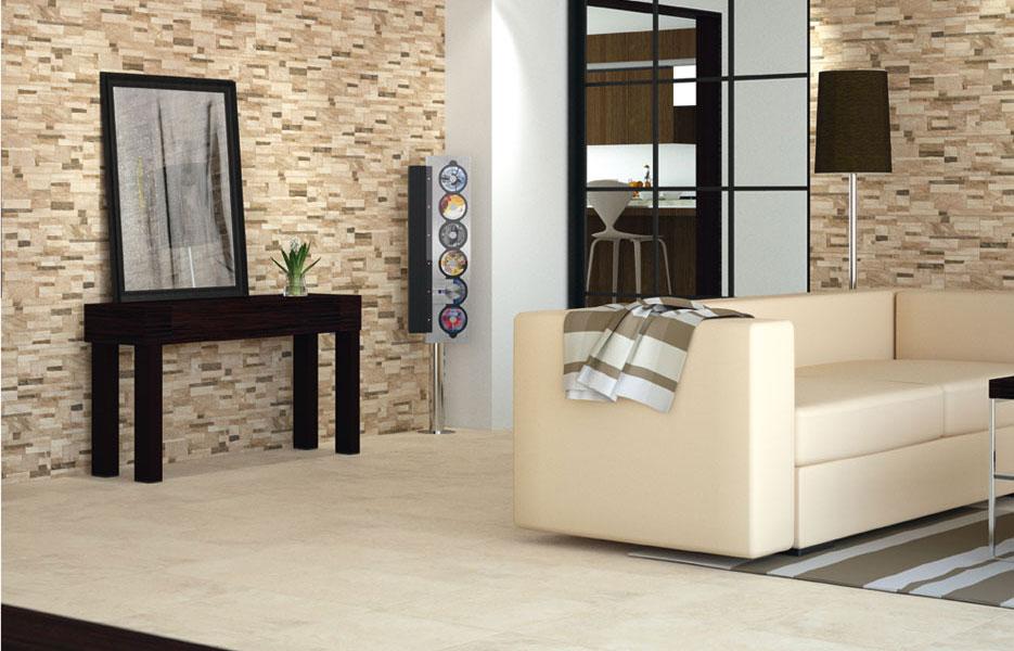 El uso de las baldosas de cer mica en la decoraci n - Materiales para forrar paredes interiores ...