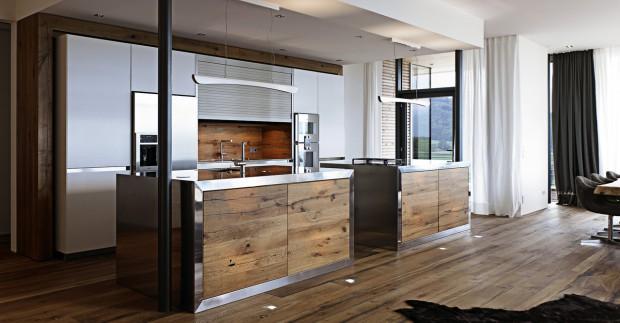 Estilo minimalista en la cocina