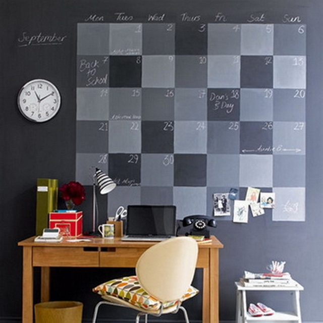 Ideas para decorar oficinas con calendario 3