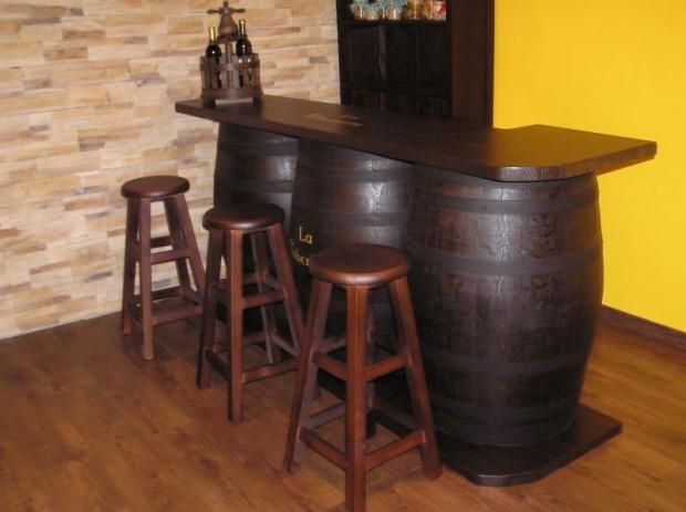 Las barricas en la decoración de interiores