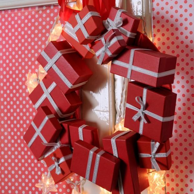 Las manualidades en la decoración navideña.