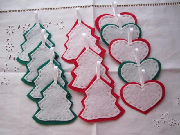 Las manualidades en la decoración navideña,,,