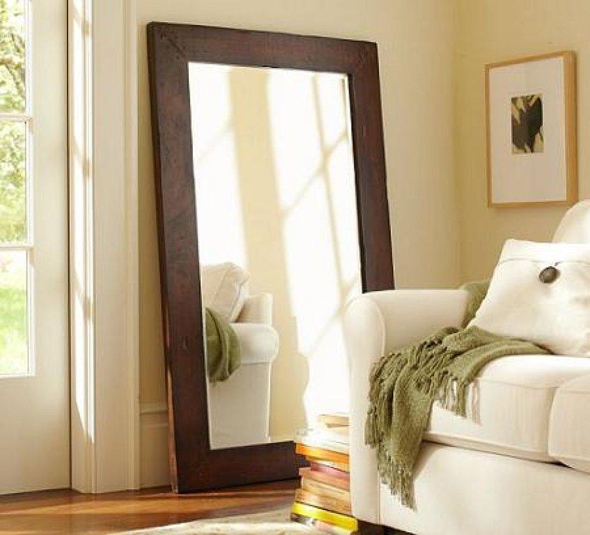 Los espejos en la decoraci n elementos de gran - Espejos grandes de pared ...