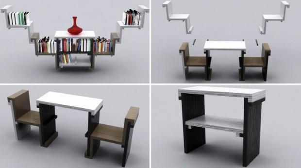 Los muebles en la decoración