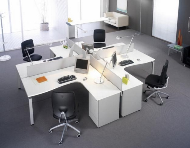 Muebles modulares para oficina for Distribucion de oficinas modernas