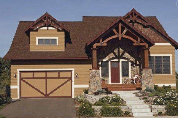 Pintando la fachada del hogar