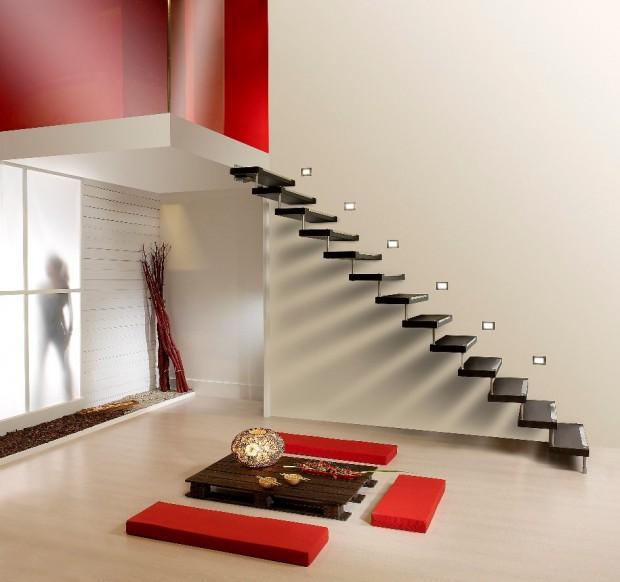 Trucos para decorar las escaleras del hogar..