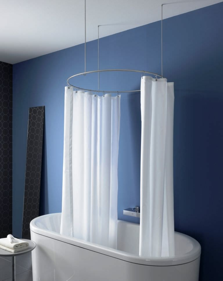 Barras de cortinas de baño.