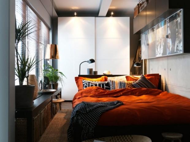 Como decorar un dormitorio pequeño.