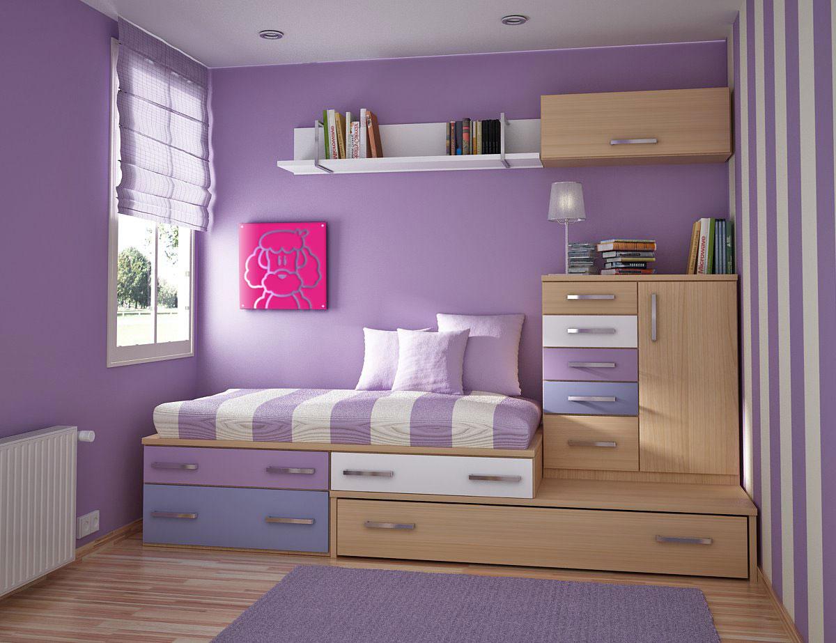 Ideas como decorar un dormitorio peque o - Como decorar un cuarto pequeno ...