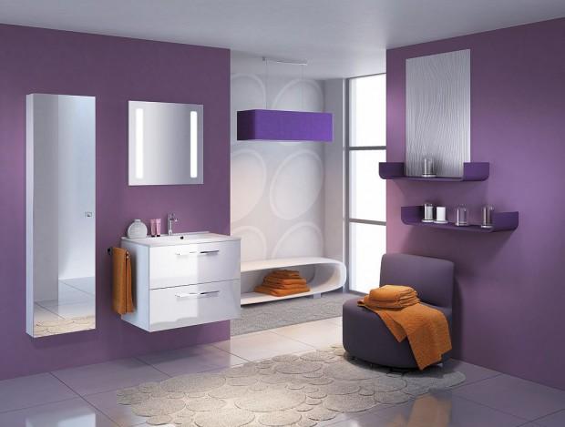 El color ideal para el cuarto de baño.