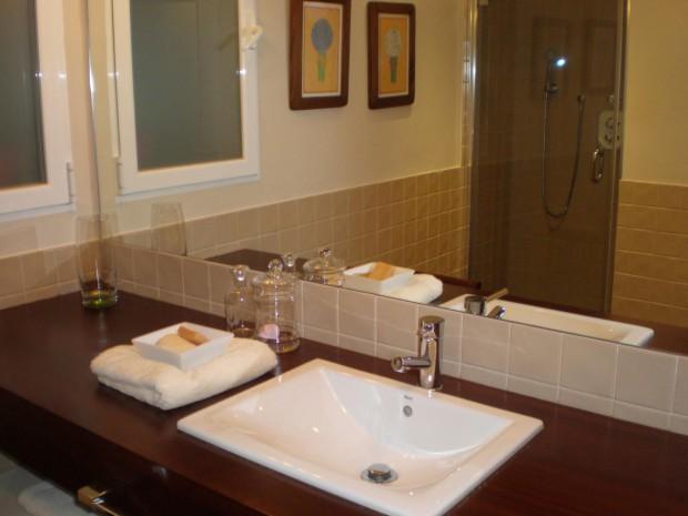 El espejo ideal para el baño.