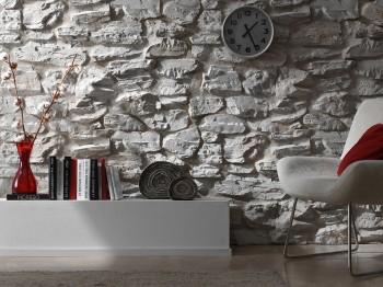 Ideas para decorar paredes imitando la piedra.