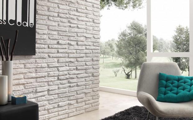 Ideas para decorar paredes imitando la piedra...