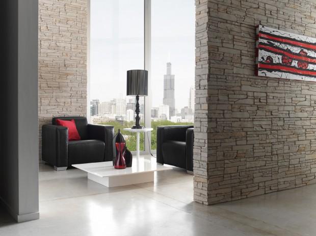 Ideas para decorar paredes imitando la piedra.,