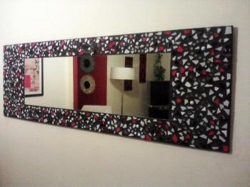 Integrar un espejo en azulejos