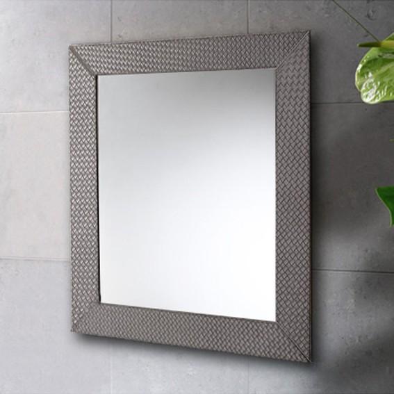 Integrar un espejo en azulejos..