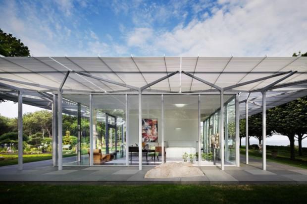 Los techos transparentes y su uso en las terrazas..