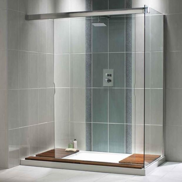 Mamparas en el baño..