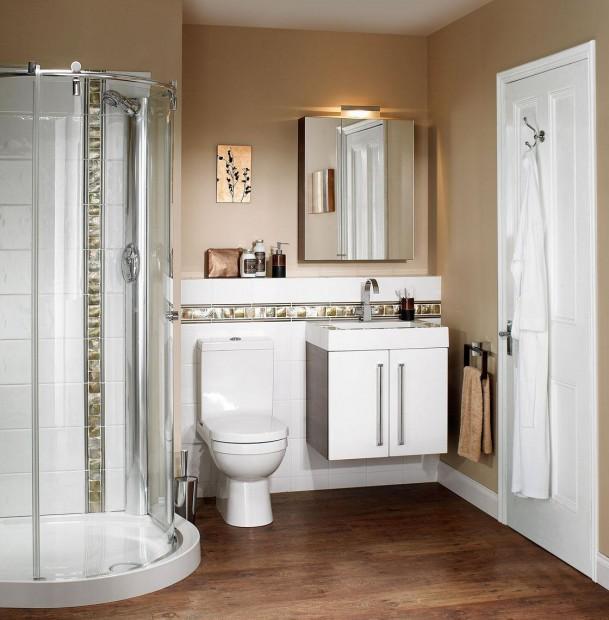 Materiales ideales para baños pequeños.