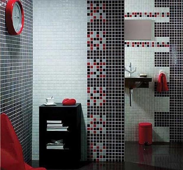 Materiales ideales para baños pequeños..