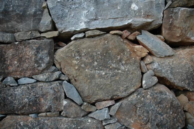 Muros de piedra seca..