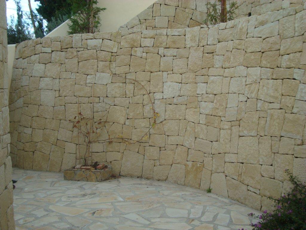 Muros de piedra seca for Tipos de piedras para paredes exteriores
