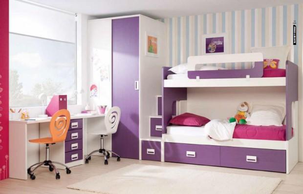 Que armario utilizar en  dormitorios pequeños.