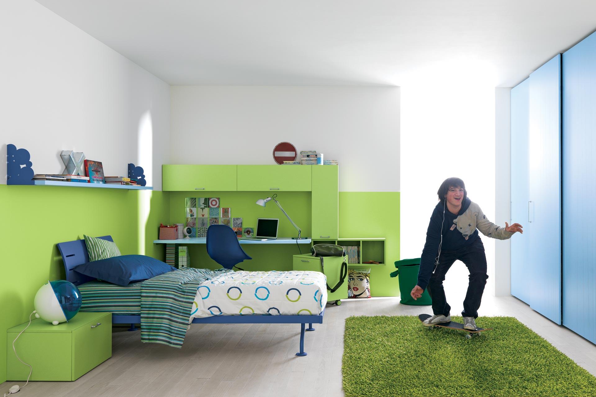 Rinc n de estudio en dormitorios como decorar un rinc n - Camere da letto per teenager ...