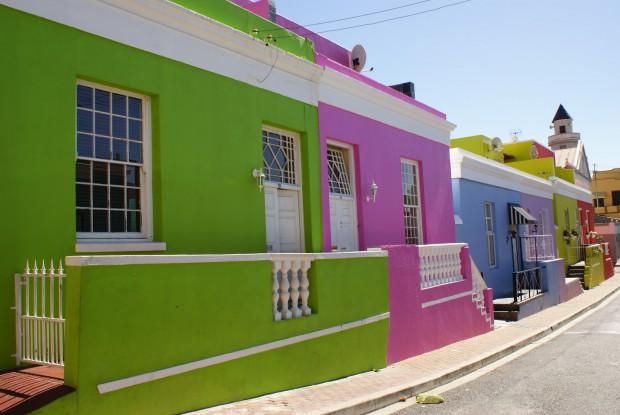 Trucos para pintar la fachada..