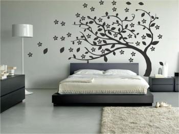 Vinilos decorativos en paredes