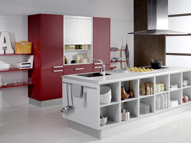 Amueblar la cocina con muebles auxiliares - Amueblar cocinas pequenas ...
