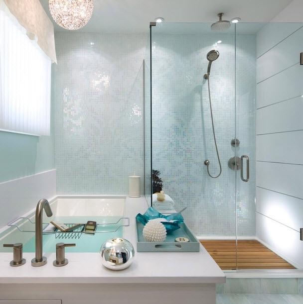 Azulejos material número uno en la decoración de baños.